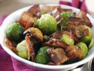 Sautéed Sprouts with Bacon and Chestnuts recipe