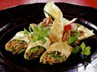 Savory Crêpes with a Vegetable Filling recipe