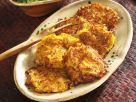 Savory Pumpkin Parsnip Pancakes recipe