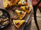 Savory Pumpkin Pie with Mushrooms recipe
