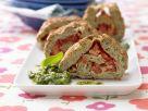 Savory Roulade with Tomato and Pesto recipe