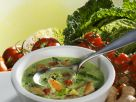 Savoy Cabbage Soup with Coconut Milk and Ginger recipe