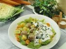 Savoy Stew with Meatballs recipe