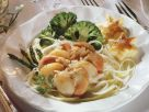 Scallops with Vegetables recipe