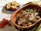 Sea Bream with Tomatoes in Clay Pot recipe