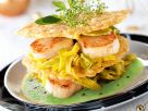 Seafood and Parmesan Stack recipe