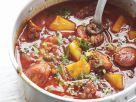 Seafood and Spanish Sausage Casserole recipe