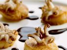 Seafood Appetizers with Balsamic Sauce recipe