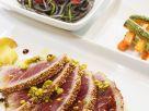 Seared Tuna with Pistachios recipe