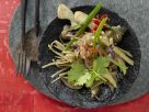 Seitan with Bamboo Shoots, Oyster Mushrooms and Ginger recipe