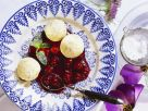 Semolina Balls with Cherry Sauce recipe