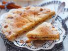 Semolina Cake with Jam and Almonds recipe
