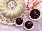 Semolina Pudding with Berry Sauce recipe