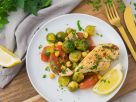 Sheet Pan Chicken with Brussels Sprouts recipe