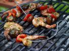 Skewered Shrimp and Vegetables recipe