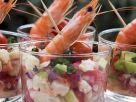 Shrimp Cocktail with Avocado and Tomato recipe
