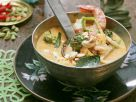 Shrimp Curry with Broccoli and Cashews recipe