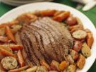Sliced Brisket with Vegetables recipe