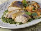 Sliced Chicken Breast with Green Sauce recipe