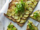 Sliced Potato Flat Bread recipe