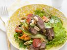 Sliced Steak Salad with Nuts recipe