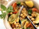Slow Cooked Vegetables with Chickpeas recipe