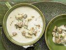 Smarter Creamy Mixed Mushroom Soup recipe
