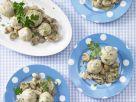 Smarter Dumplings with Mushrooms in Cream recipe