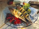 Smoked Mackerel with Red Currant and Shallot Sauce recipe