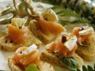 Fish and Soft Cheese Triangles recipe