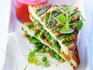 Snow Pea Sandwiches recipe
