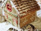 Snowy Gingerbread Cottage recipe