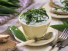 Soft Cheese and Herb Cups recipe