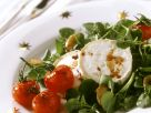 Soft Cheese Rounds with Tomatoes recipe