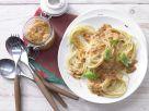 Spaghetti and Red Pesto recipe