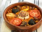 Spanich Rice and Garlic Bake recipe
