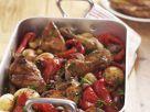 Spanish Chicken Traybake recipe