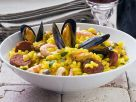 Spanish Pasta with Seafood recipe