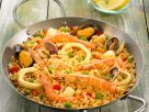 Spanish Rice with Mixed Seafood recipe
