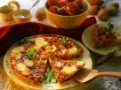 Spanish Tortilla with Potatoes, Tomatoes and Bell Peppers recipe