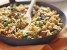 Spicy Pork and Pea Rice Dish recipe