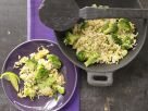 Spicy Wok-Fried Rice with Broccoli recipe