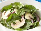 Spinach and Mushroom Salad recipe