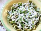 Spinach Pasta Ribbons recipe