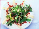 Spinach Salad with Brie and Pomegranate Seeds recipe