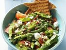 Spinach Salad with Feta Cheese and Almonds recipe