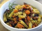 Spiral Pasta with Sausage and Squash recipe