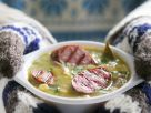 Pea Soup with Sausage recipe