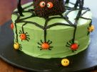 Spooky Spider Gateau recipe