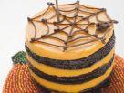 Spooky Web Gateau recipe